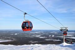 Лыжный курорт Ylläs, Финляндия Стоковое фото RF