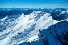 Лыжный курорт Zugspitze Стоковая Фотография RF