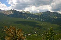 Лыжный район лета Стоковые Изображения RF