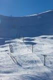 Лыжный район Roundhill около озера Tekapo Стоковые Фотографии RF