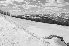 Лыжный район Wolf Creek Стоковые Изображения