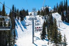 Лыжный район Wolf Creek Стоковые Изображения RF