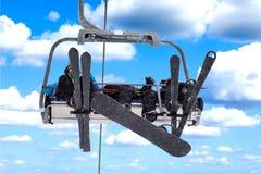 Лыж-подъем стоковая фотография rf