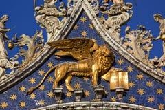 львев базилики золотистый маркирует святой venice Стоковая Фотография RF