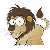 львев шаржа Стоковые Фотографии RF
