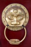 львев knocker стоковая фотография