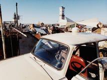 Львов Автомобиль на крыше Стоковые Фото