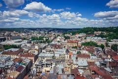 Львов в Украине стоковая фотография