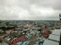 Львов, Украина, Европа, архитектура, город льва, старые здания, стоковые изображения rf