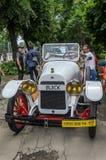 ЛЬВОВ, УКРАИНА - ИЮНЬ 2018: Старый винтажный ретро автомобиль Buick стоковые фото