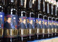 Львов, Украина - 20-ое мая 2017: Бутылки пива отличая США Pre Стоковые Изображения RF