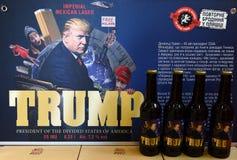 Львов, Украина - 20-ое мая 2017: Бутылки пива отличая США Pre Стоковая Фотография