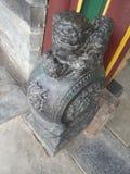 Львы фарфор-камня Zhang House of Стоковые Изображения