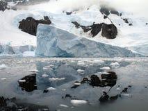 льдед айсберга Стоковые Фотографии RF