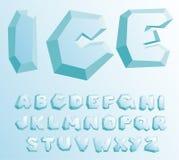 льдед алфавита Стоковая Фотография RF