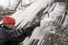 льдед альпиниста Стоковые Изображения RF