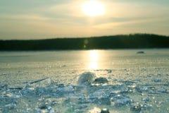 льдед бита Стоковые Изображения RF