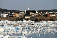 льдед гавани bonavista Стоковая Фотография RF