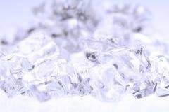 льдед задавленный предпосылкой Стоковая Фотография RF