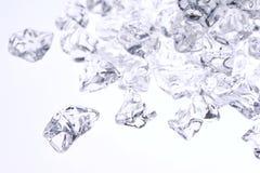 льдед задавленный предпосылкой Стоковые Фото