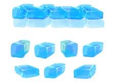 льдед изолировал иллюстрация вектора