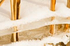 Льдед и сторновка Стоковое Фото
