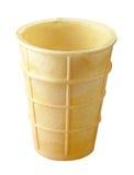 льдед конуса cream пустой Стоковые Изображения