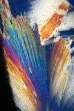 льдед кристаллов крупного плана Стоковое Изображение