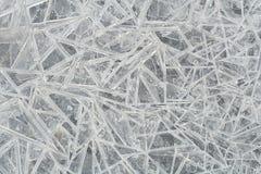 льдед кристаллов Стоковое Изображение