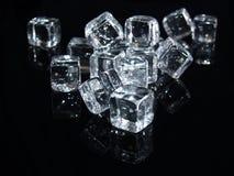 льдед кубика стоковая фотография rf