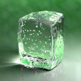 льдед кубика иллюстрация штока