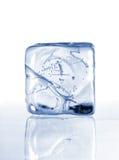 льдед кубика Стоковые Фотографии RF