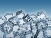 льдед кубиков иллюстрация вектора