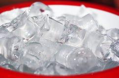 льдед кубиков Стоковая Фотография RF