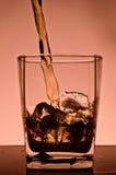 льдед питья кубиков Стоковое Изображение RF