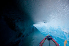 льдед подземелья внутрь Стоковая Фотография RF