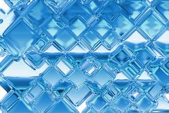 льдед предпосылки Стоковая Фотография RF