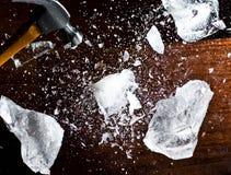 льдед пролома Стоковая Фотография RF