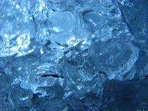 льдед сини предпосылки Стоковые Изображения