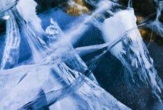 льдед сломанный предпосылкой стоковое изображение rf