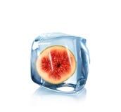 льдед смоквы кубика Стоковое фото RF
