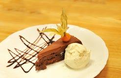 льдед торта cream Стоковая Фотография RF
