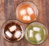 льдед трясет чай Стоковые Изображения