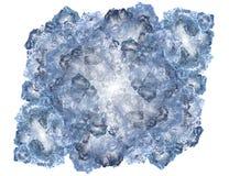 льдед фрактали блока Стоковые Фотографии RF