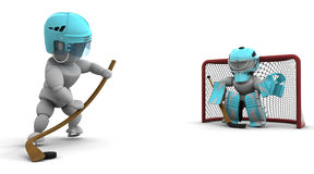 льдед хоккея Стоковые Изображения