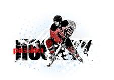 льдед хоккея иллюстрация вектора