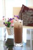 льдед цветка кофе Стоковое Фото