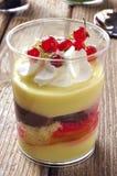 льдед ягод cream Стоковые Изображения RF