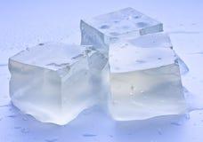 льдед 3 кубиков Стоковое Изображение RF