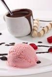 льдед cream десерта Стоковое Изображение